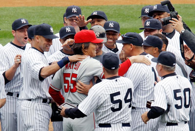 選手達からの信頼も厚かった松井秀樹